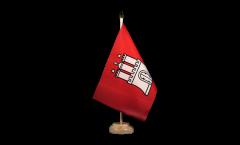 Bandiera da tavolo Germania Amburgo