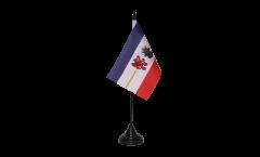 Bandiera da tavolo Germania Meclenburgo Pomerania