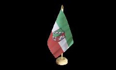 Bandiera da tavolo Germania Renania Settentrionale-Vestfalia