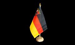 Bandiera da tavolo Germania Renania Palatinato