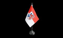 Bandiera da tavolo Germania Düsseldorf