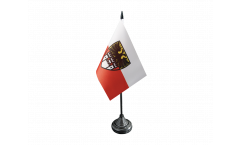 Bandiera da tavolo Germania Duisburg