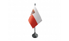 Bandiera da tavolo Germania Francoforte