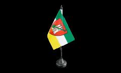 Bandiera da tavolo Germania Amburgo giardino