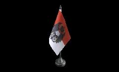 Bandiera da tavolo Germania Colonia con stemmi