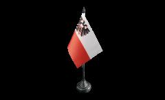Bandiera da tavolo Germania Lübeck