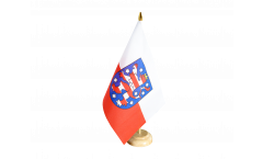 Bandiera da tavolo Germania Turingia