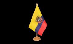 Bandiera da tavolo Ecuador