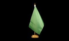 Bandiera da tavolo Unicolore Verde