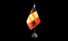 Bandiera da tavolo Tifosi Belgio Diables Rouges