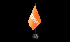 Bandiera da tavolo Tifosi Paesi Bassi ORANJE!