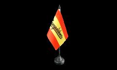 Bandiera da tavolo Tifosi Spagna Campeones