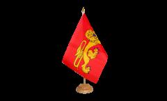 Bandiera da tavolo Francia Aquitania