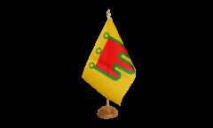 Bandiera da tavolo Francia Alvernia
