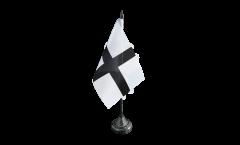 Bandiera da tavolo Francia Bretagna Kroaz Du