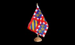 Bandiera da tavolo Francia Borgogna