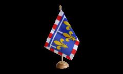 Bandiera da tavolo Francia Centro