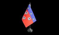 Bandiera da tavolo Francia Chartres