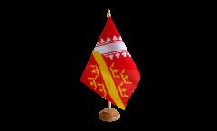 Bandiera da tavolo Francia Alsazia