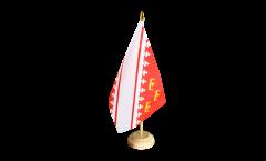 Bandiera da tavolo Francia Alsazia nuova