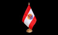 Bandiera da tavolo Francia Polinesia francese