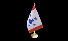 Bandiera da tavolo Francia Polinesia francese Isole Australi