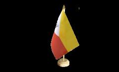 Bandiera da tavolo Francia Polinesia francese Isole Marchesi