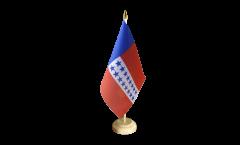 Bandiera da tavolo Francia Polinesia francese Isole Tuamotu