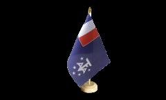 Bandiera da tavolo Terre Meridionali e Antartiche Francesi