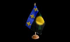 Bandiera da tavolo Francia Guadelupe