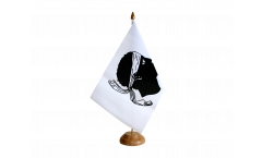 Bandiera da tavolo Francia Corsica