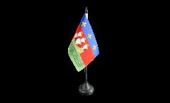 Bandiera da tavolo Francia La Rochelle