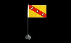 Bandiera da tavolo Francia Lorena