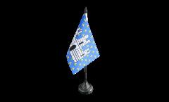 Bandiera da tavolo Francia Melun