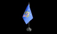 Bandiera da tavolo Francia Montpellier