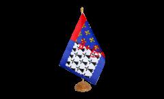 Bandiera da tavolo Francia Loira