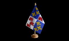 Bandiera da tavolo Francia Piccardia