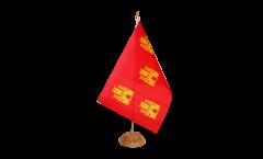 Bandiera da tavolo Francia Poitou Charentes