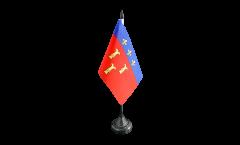 Bandiera da tavolo Francia Tulle
