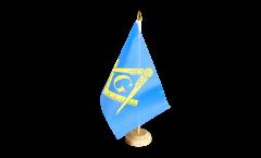 Bandiera da tavolo Massone