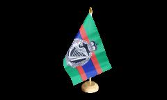 Bandiera da tavolo Regno Unito British Army Royal Irish Regiment