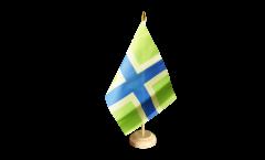 Bandiera da tavolo Regno Unito Gloucestershire nuova