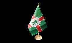 Bandiera da tavolo Regno Unito Nottinghamshire nueva