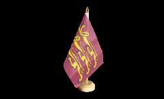 Bandiera da tavolo Regno Unito Riccardo Cuor di Leone