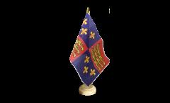 Bandiera da tavolo Regno Unito Royal Banner 1485-1547 Enrico VII ed Enrico VIII