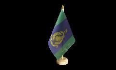 Bandiera da tavolo Regno Unito Royal Marines Signals Squadron