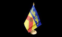 Bandiera da tavolo Regno Unito Staffordshire