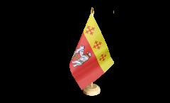 Bandiera da tavolo Regno Unito Warwickshire