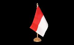 Bandiera da tavolo Indonesia