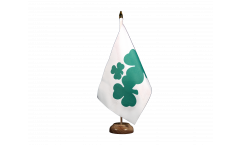 Bandiera da tavolo Irlanda Shamrock